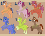 Adoptables #1 (5/6 Open) by Adort-Adopts