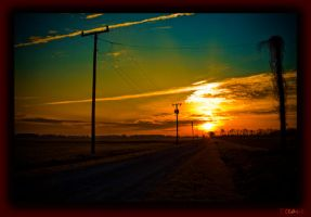 Nuclear Sunrise by Steave