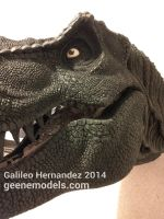 T rex bust 1:4 scale One more WIP by GalileoN
