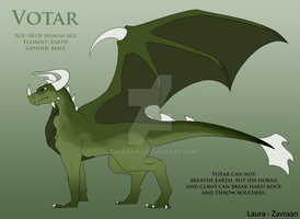 Earth dragon design by zavraan