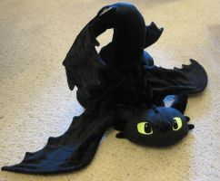 Toothless Go Splat by munchforlunch