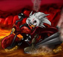 AT: Stryder as Dante in Hell by killer4
