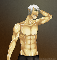 Fenris: Dragon Age 2 by Bloomseed