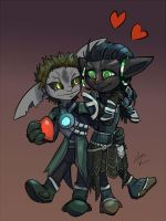 Asuran Valentines! by RunicKnight