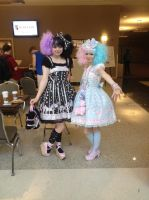 Ikasucon 2013 - Lolitas by GoodDokCosplay