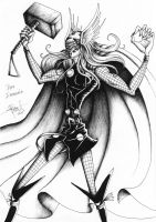 Thor Commission by obscureBT