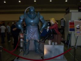 Otakon 2007 - FMA - Ed and Al by RoyMustangLover