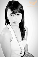Model Shoot Black and White by lee-sutil