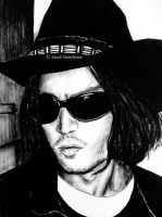Johnny Depp by ScenicSarah