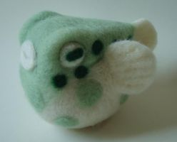 Little Green Fugu by Lobster-Ball