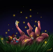 Fireflies by TransparentGhost
