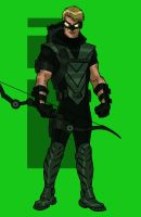 GREEN ARROW ANIMATED by CHUBETO