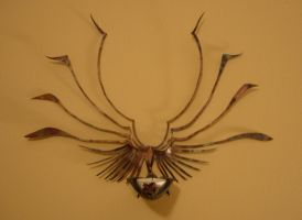 Angel Sconce by LaughingScarab