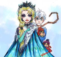 the snow queen by oasiswinds