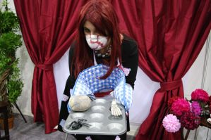 Zombie Housewife by Valliescosplay