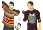 DeusEx: In sweater by MadMoro