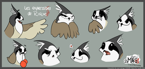 [21MARS] Roscoe Expressions colored by Luna-Minura