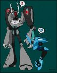 Shockwave and Blurr by dragona