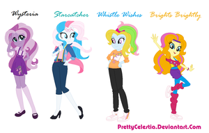 G3 Mlp Characters as Equestria Girls by PrettyCelestia