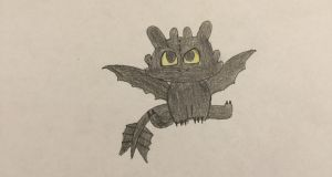 Chibi Toothless by Firecrystal100