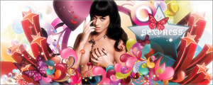 Katy Perry Vector Banner by blazigatr