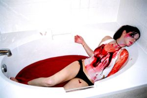 blood tub 2 by Deathrockstock