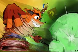 Crash Bandicoot- Nitro! by Sturx