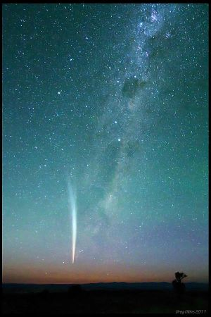 The Great Christmas Comet of 2011 by CapturingTheNight