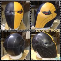 The GCC Injustice Deathstroke helmet by Cadmus130