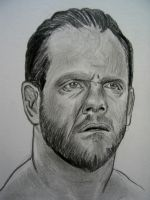 Chris Benoit WWE by VinceArt