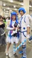 Stocking/Genderbent Stocking Cosplay AB '13 by XPockyDemonX