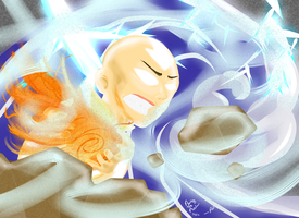 Aang the Avatar by TonyFicticium