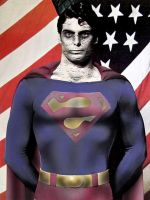 christopher reeve as bizzaro by megamike75