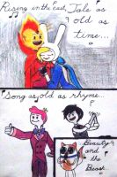 Beauty and the Beast, with Flameonna. by Supajames1