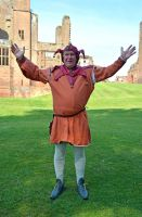 Kenilworth castle Jester by masimage