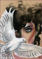 When doves cry Prince tribute Art by Katerina-Art