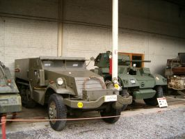 RM Halftrack and Armoured Car by kanyiko