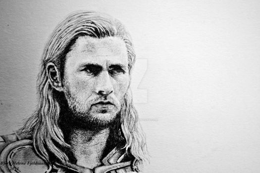 Chris Hemsworth - Thor by HeleneSaether