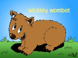 Wickley Wombat by MagicalMerlinGirl