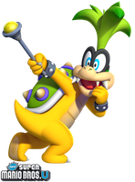 New Super Mario Bros. U: Iggy Koopa by Legend-tony980
