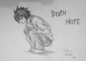 Death Note by MalouNielsen