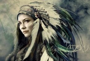 Tauriel White Feather by Pelegrin-tn