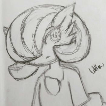 Willow (sketch) by ZeroThePokemon