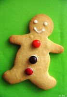 The gingerbread little man. by MonotoneInkwell