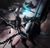 Black Rock Shooter by Lady-Was-Taken