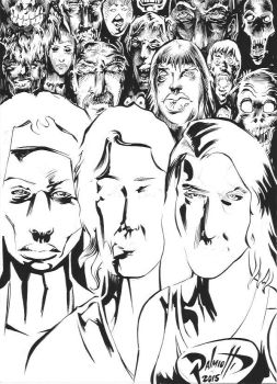 Women of the Walking Dead WIP 2 by PeterPalmiotti