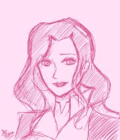 LoK sketches: Asami by Evurinn
