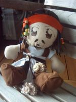 Chibi Jack Sparrow by Calzones-Plushies