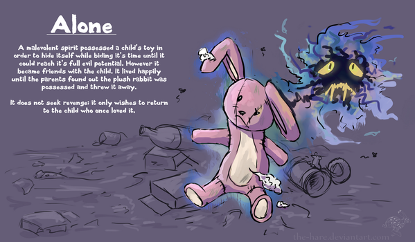 50 Character Concept Challenge: Alone by The-Hare