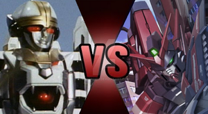 Tigerzord VS Gundam Epyon by Randroid7